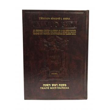 traité Roch Hachana- L a Guemara édition Edmond j Safra, artscrolll