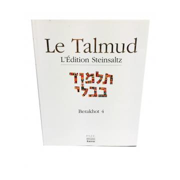 Le Talmud Berakhot 4 Steinsaltz
