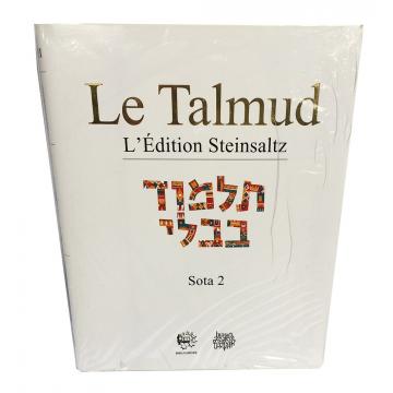 Le Talmud Sota 2 L'Edition Steinsaltz
