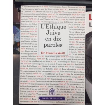 L'éthique juive en dix paroles