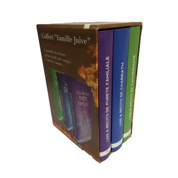 "coffret ""Famille Juive"" Torah Box-"