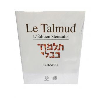 Le Talmud Sanhédrin 2 L'édition Steinsaltz