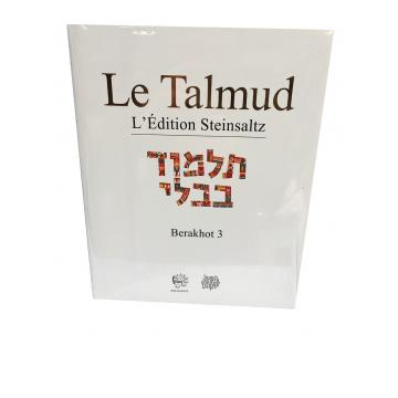 Le Talmud Berakhot 3 L'édition Steinsaltz