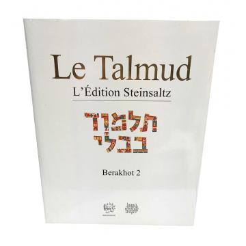 Le Talmud Berakhot 2 L'édition Steinsaltz