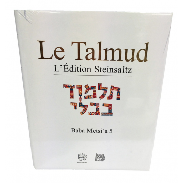 Le Talmud Baba Metsi' a 5 L'Edition Steinsaltz