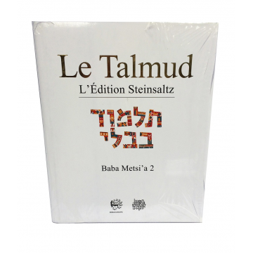 Le Talmud Baba Metsi'a 2 L'Edition Steinsaltz