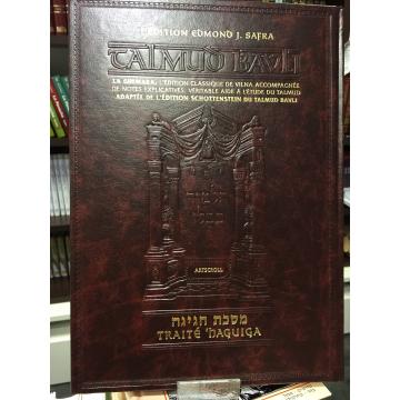 La Guemara-Traité HAGUIGA- édition Edmond J.Safra- Artscroll-