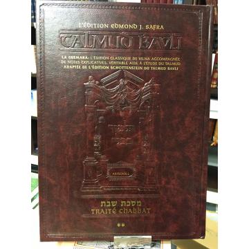 Guemara-Traité CHABBAT T2- édition Edmond J.Safra- Artscroll-