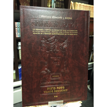Guemara-Traité Berakhot T2- édition Edmond J.Safra- Artscroll-