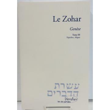 Le Zohar- genèse T3- verdier