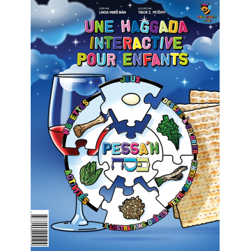 HAGGADA interactive pour enfants de Linda Vero ban et Tibor Z