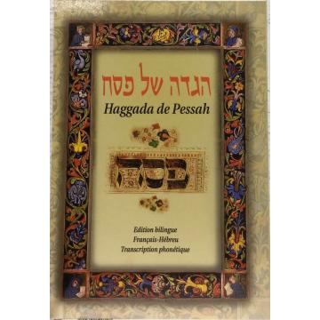 Haggada de pessah -français hébreu phonétique- rite sépharade