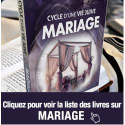 livres mariage juif